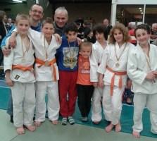 ploeg U 13 met coachs Robert en Alain Decuyper