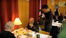 fotograaf Jimmy Kets tijdens de Pensenkermis Harmonie Sint-Cecilia Sint-Pieters-Leeuw