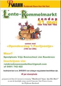 2015-05-31-affiche-lenterommelmarktRuisbroek