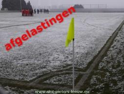 AFGELASTINGEN-voetbal