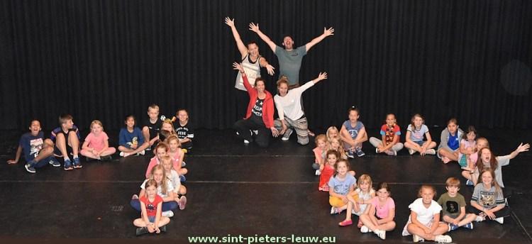 10jaar dansstage Gympie in Vlezenbeek