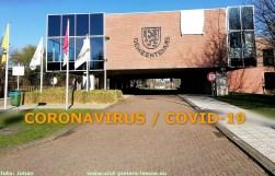 2020-03-25-gemeentehuis_Sint-Pieters-Leeuw__witte-vlag_coronacrisis