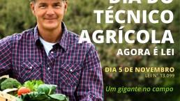 5 De Novembro é O Dia Do Técnico Agrícola