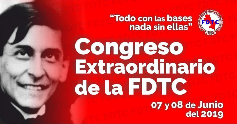 FDTC – Realiza Congreso este 7 y 8 de Junio del 2019