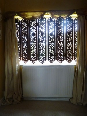 Indian Screens used as Shutters