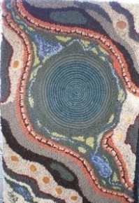 Contour map rug by artwools.com