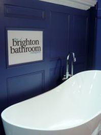 A simple, stylish coastal bathroom. brighton bathroom.com