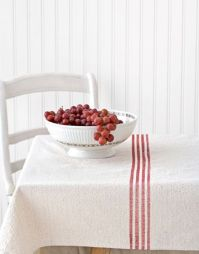 DIY french linen table cloth from Country Living