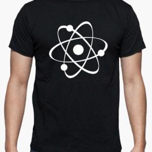 Camiseta Atom negra