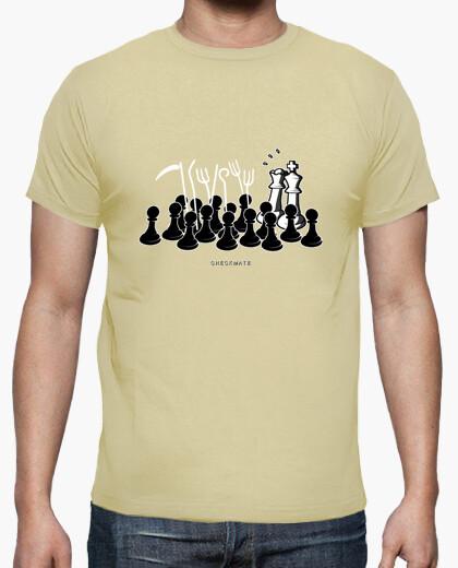 Camiseta Jaque Mate color crema