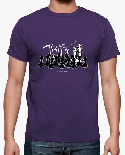 Camiseta Jaque Mate color morado