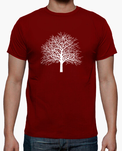 Camiseta Tree color rojo