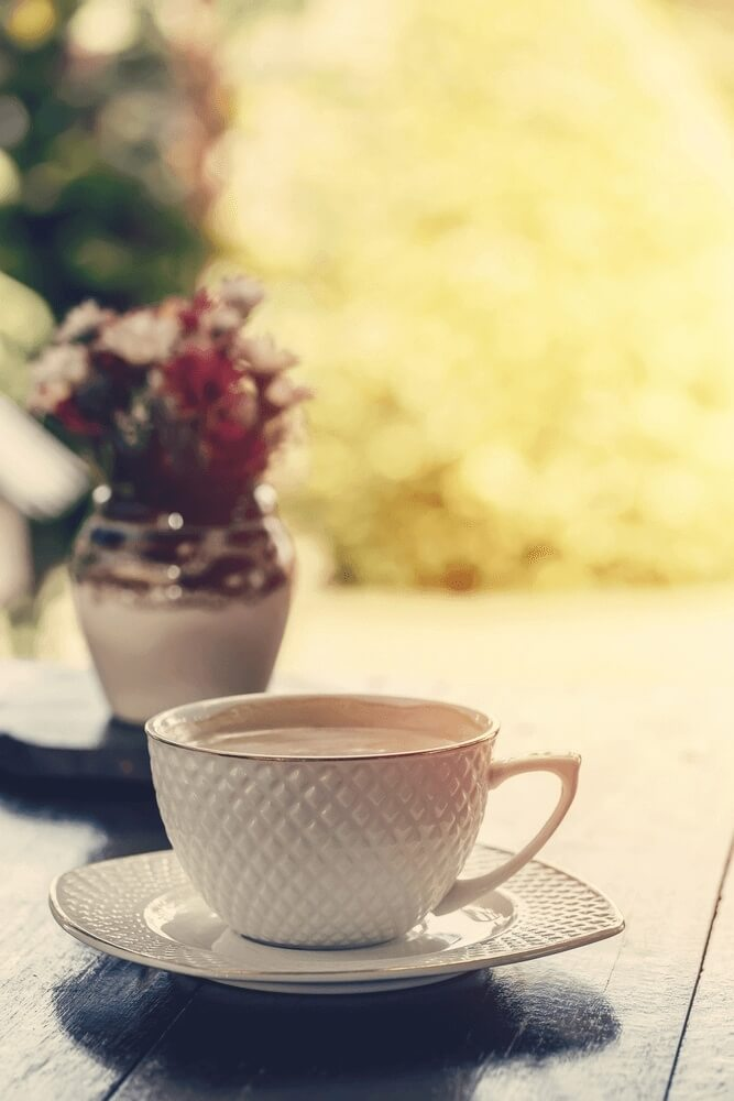 Good morning images with morning coffee
