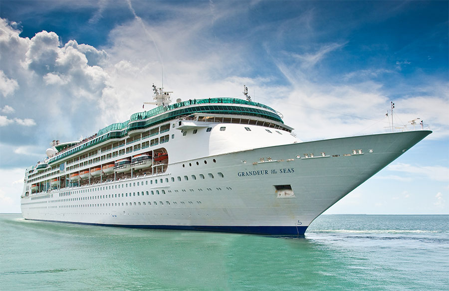 Royal Caribbean's Grandeur of the Seas will be in port Nov 5th!