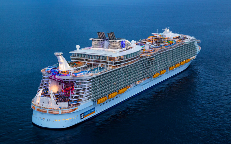 Royal Caribbean's 50th birthday cruise celebration is coming to St Maarten