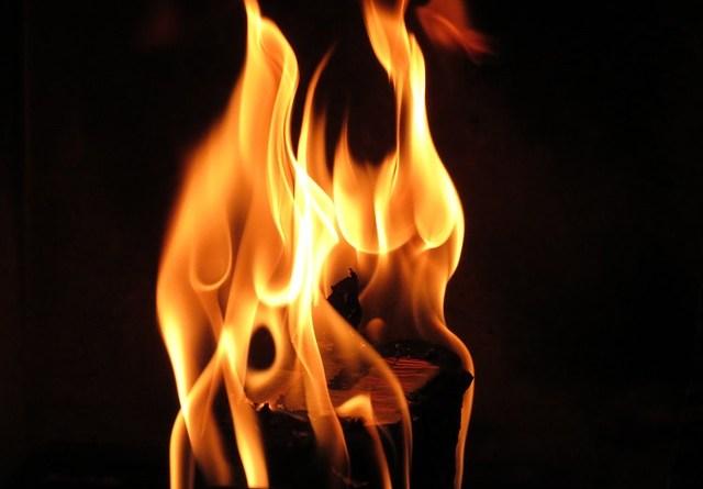 quemadura causas