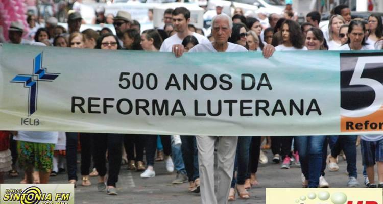 Caminhada em Comemoração dos 500 Anos da Reforma Luterana