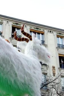 Nouvel An chinois (Paris, 1er février 2015) - Entrée dans l'année de la chèvre!