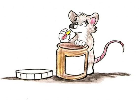 Sairat rotta pilleripurkin kanssa.