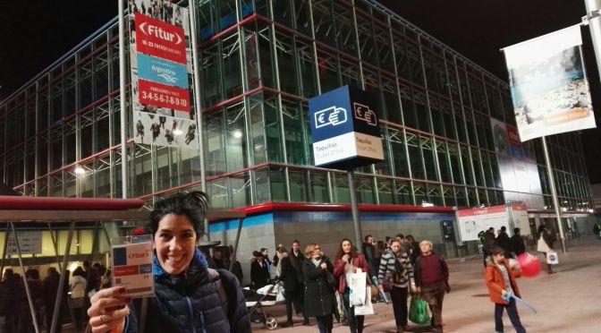 """Mi primera vez cómo """"blogguer"""" en Fitur (impresiones)"""