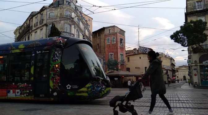 Montpellier, en tren y con bebe