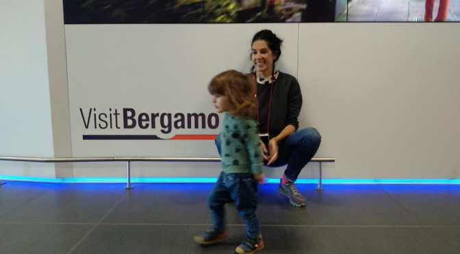Bergamo con bebe.