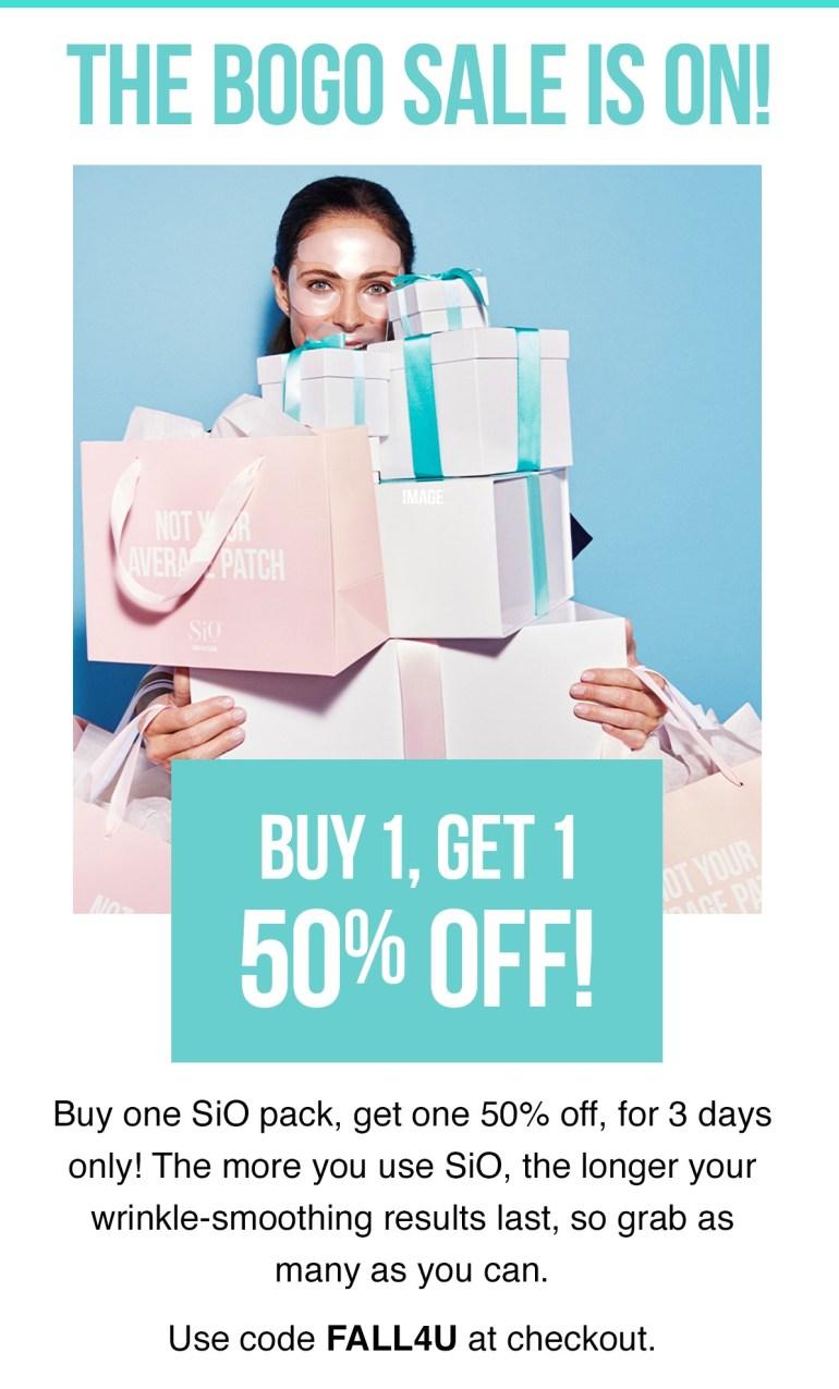 SiO Beauty BOGO 50% Off with code FALL4U