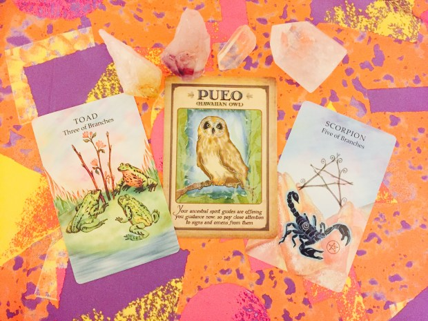 he Animal Wisdom Tarot – Brunke – CICO Books - 2013, Messages From Your Animal Spirit Guides – Farmer – Hay House – 2008