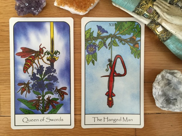 Nature Spirit Tarot - Jean Marie Herzel - self-published 2015