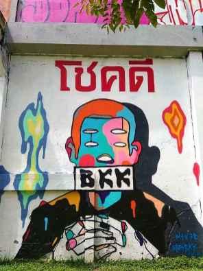 Bangkok atrakcje turystyczne - Street Art - Siódmy w Świecie
