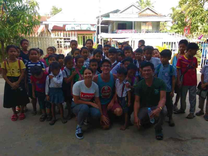 Wolontariat w Kambodży