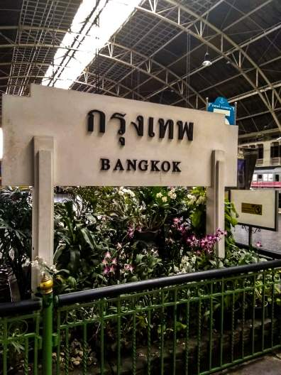 Dworzec w Bankoku Hua Lamphong - Poipet - granica Kambodży