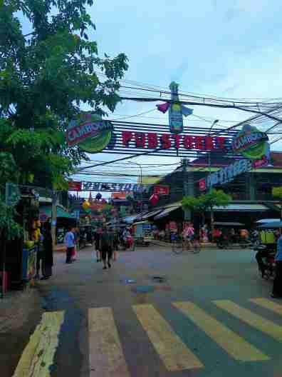 Kambodża i Pub Street - Atrakcje Siem Reap