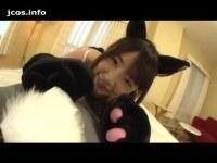 大人気AV女優のつぼみが猫耳コスでイチャつきセックスしてる潮吹き動画