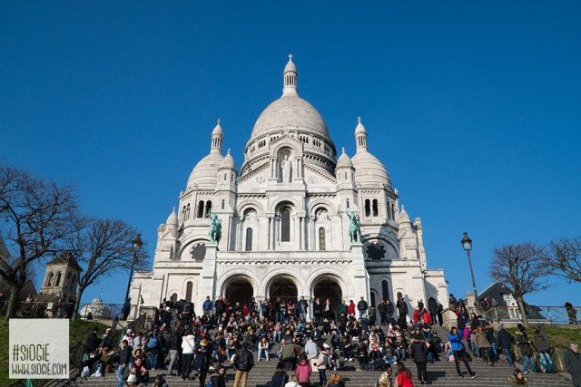 Sacre Coeur Europe Honeymoon Trip