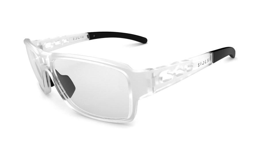 Die klare Form der SIOLS.Fusion Sportbrille für Brillenträger:innen wurde nach einem weltweit einzigartigen Konzept entwickelt.