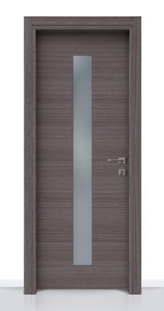 ΠΟΡΤΑ LAMINATE GLASS LINE GRIZIO ΤΖ-1