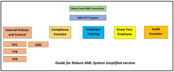 Structure of AML/CFT system