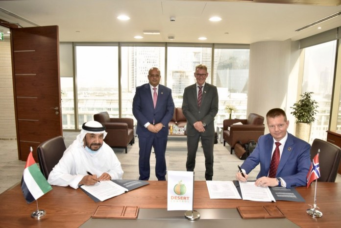 Landmark Agreement for Desert Control to Accelerate Climate-Smart Agriculture, Food Security, and Sustainable Forestry