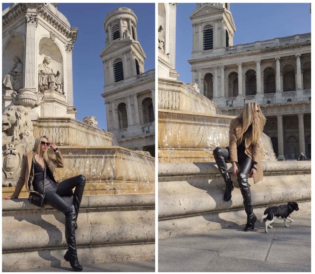 SiostryADiHD w Paryżu- fontanna dzieła Louisa Visconti