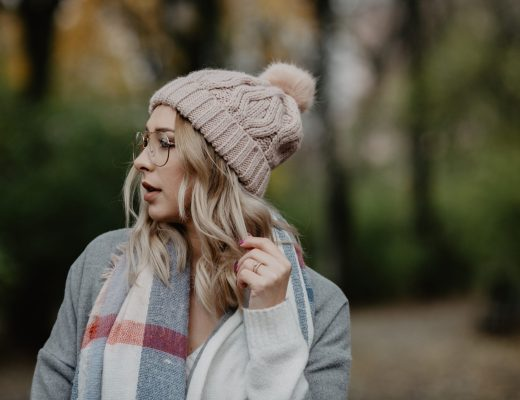 Jesienna, pastelowa stylizacja