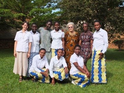 Siostry Misjonarki Afryki ze wspólnoty w Bunamwaya