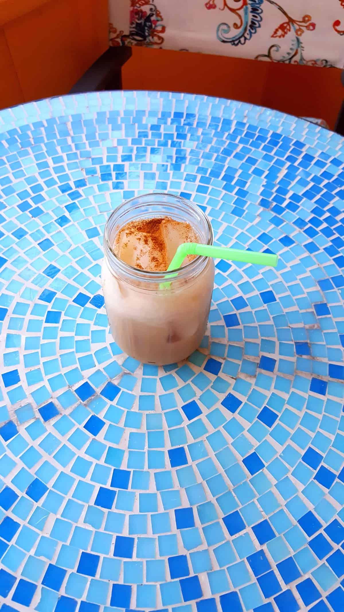 Homemade Iced Chai Tea Latte