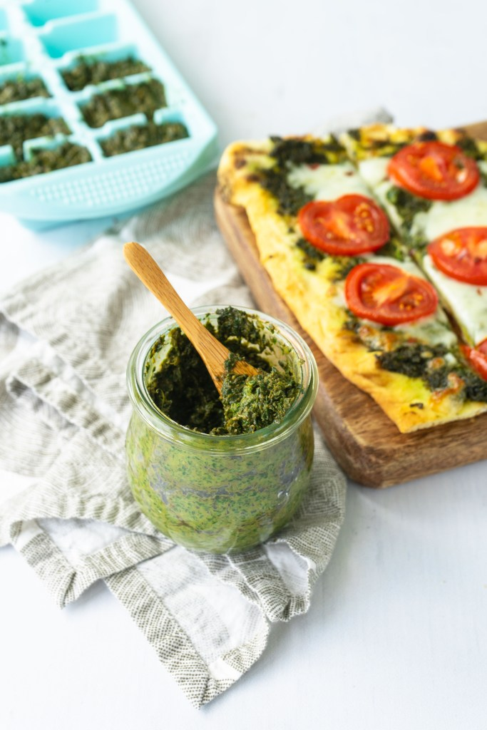 Classic Basil Pesto | Sip and Spice