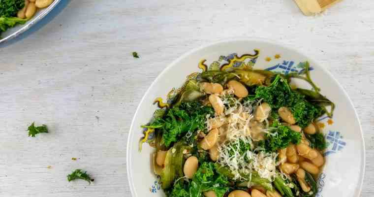 Classic Italian Greens and Beans (video)