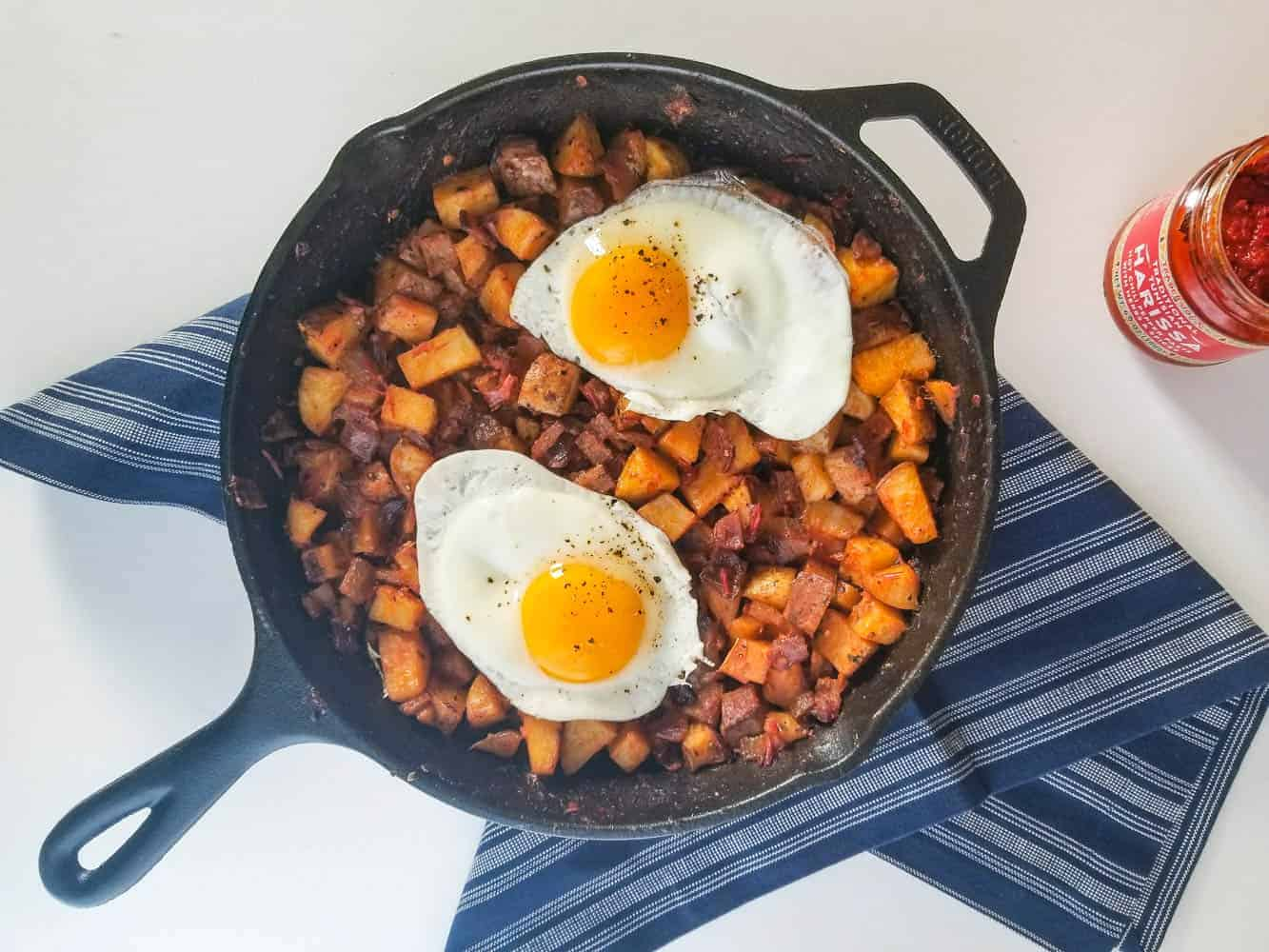Harissa Breakfast Potatoes