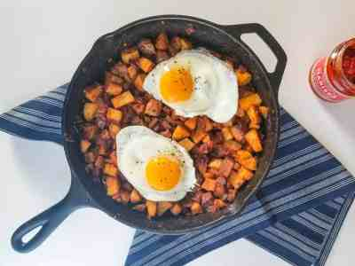 Harissa Breakfast Potatoes | Sip + Spice
