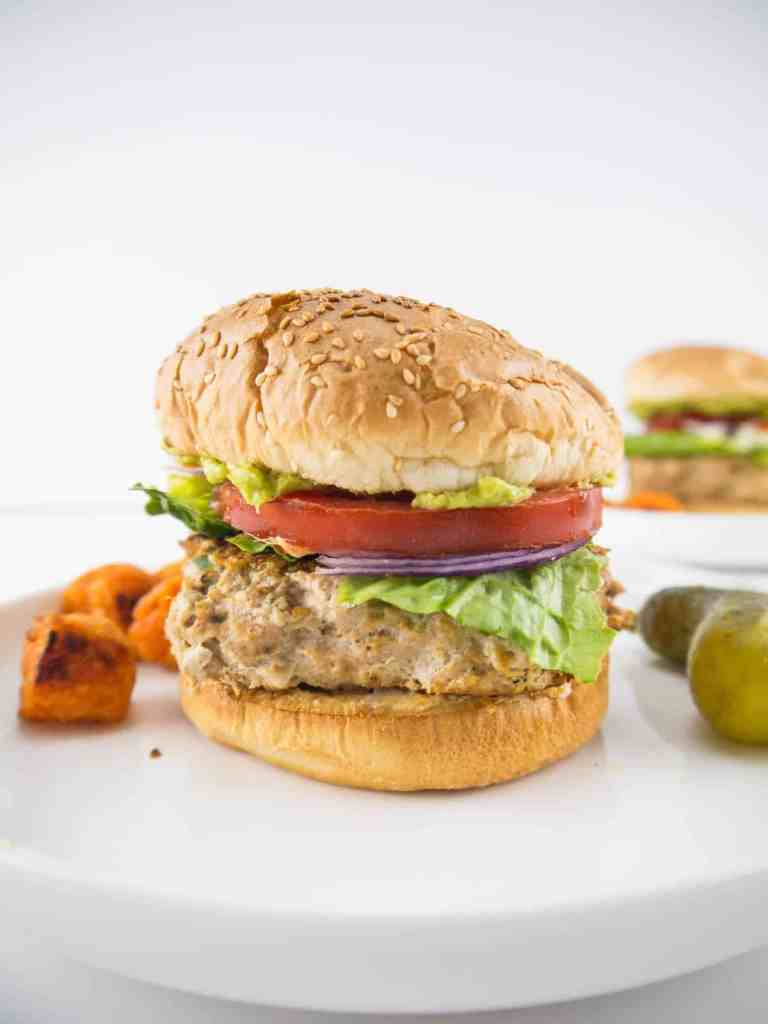 Southwestern Turkey Burgers | Sip + Spice