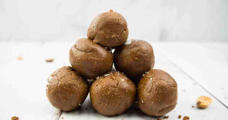 Healthy Chocolate Peanut Butter Truffles