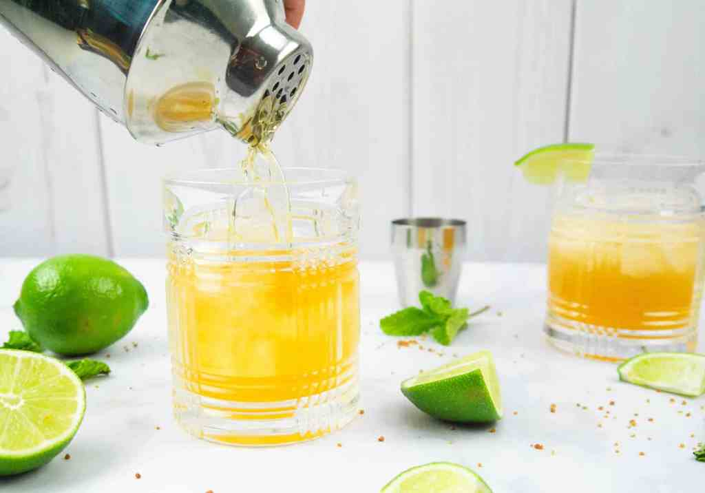 Mint Julep Margarita   Sip + Spice